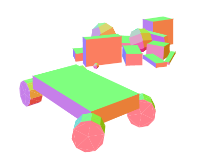 JigLibJS2 Javascript 3D Physics Engine screenshot